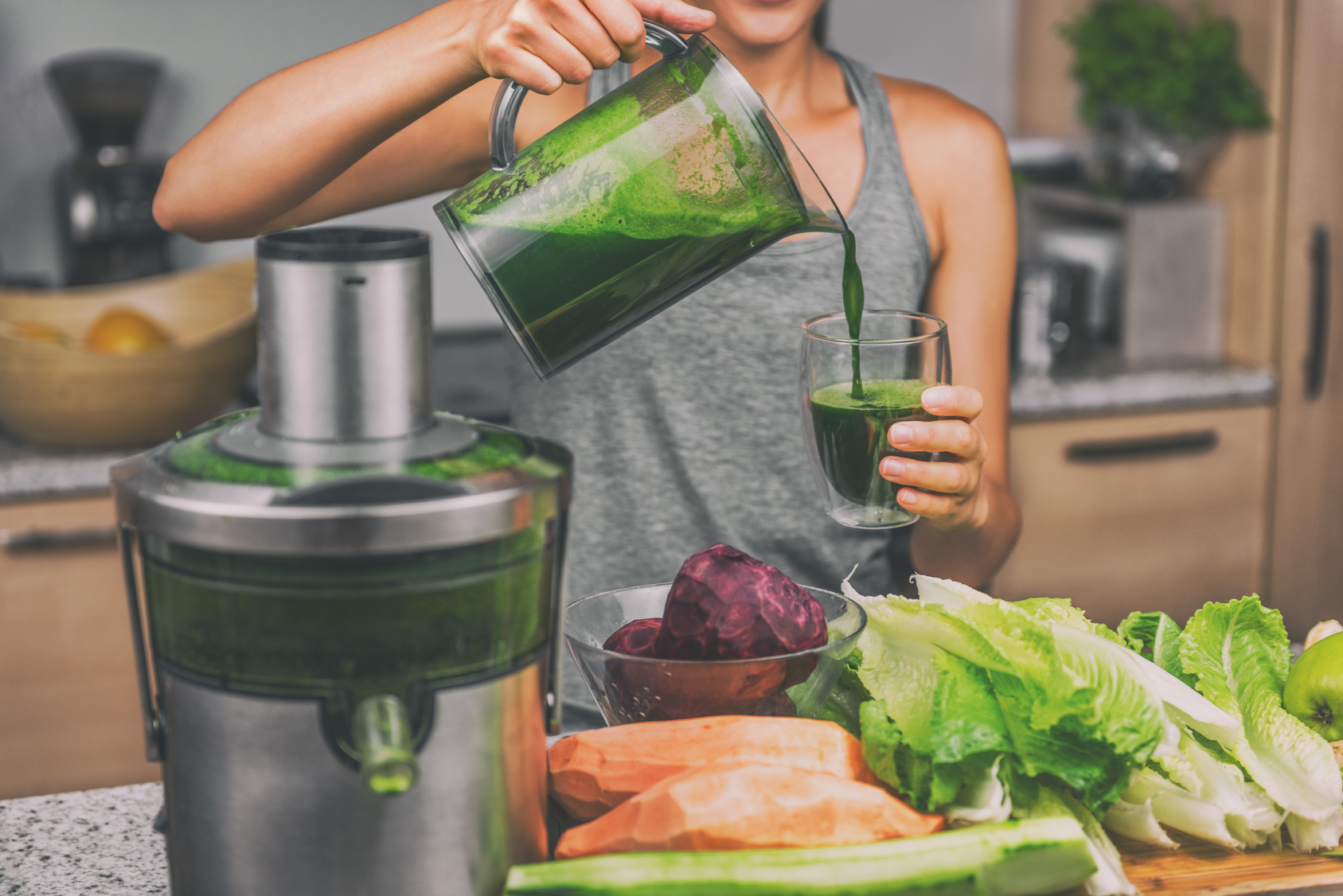 green juice - juice recipes for beginners
